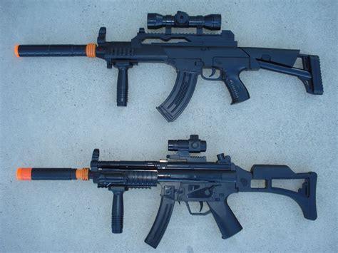 Mp5 A4 toygunzone army rangers set 2 army guns ak 47