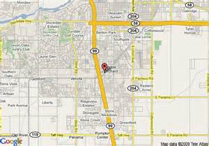 map of inn express bakersfield bakersfield