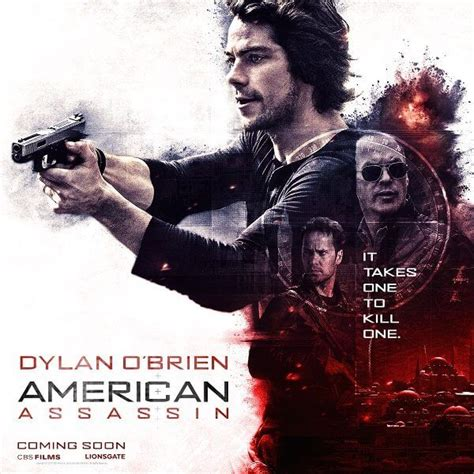 film 2017 american american assassin new posters with dylan o brien and