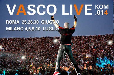 biglietti concerto vasco 2014 scaletta concerto vasco roma e tour 2014