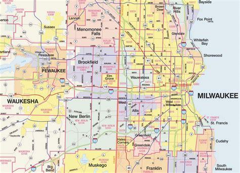 milwaukee map usa zip code map milwaukee zip code milwaukee map wisconsin