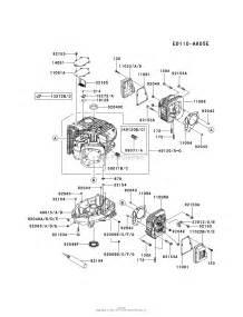 kawasaki fs600v cs08 4 stroke engine fs600v parts diagram for cylinder crankcase