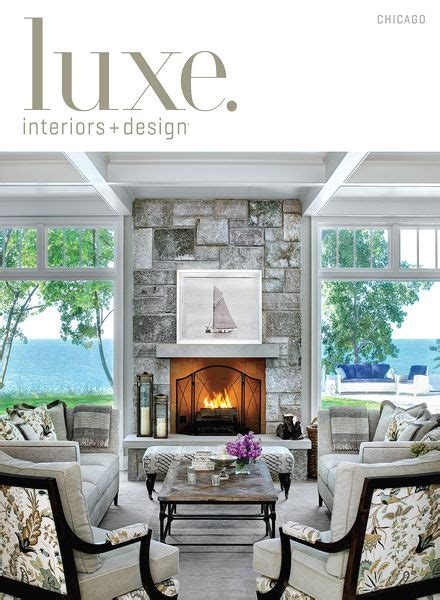luxe interior design magazine chicago edition