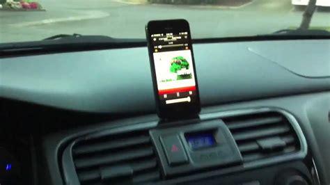 worlds  iphone  custom car mount youtube
