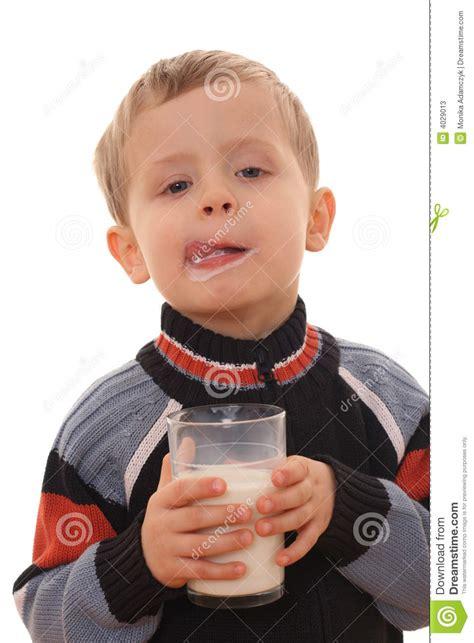 Drink Milk Boy Set B056 boy milk stock photos image 4029013