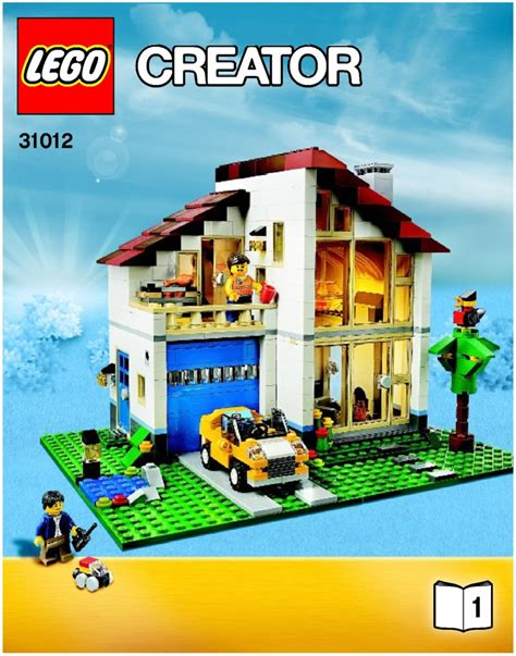 lego family house 31012 creator
