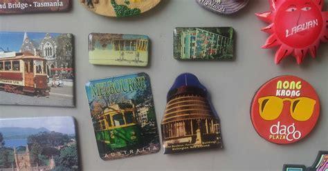 Magnet Kulkas Buah Tangan Negara Alaska lukisan perasaan koleksi fridge magnet