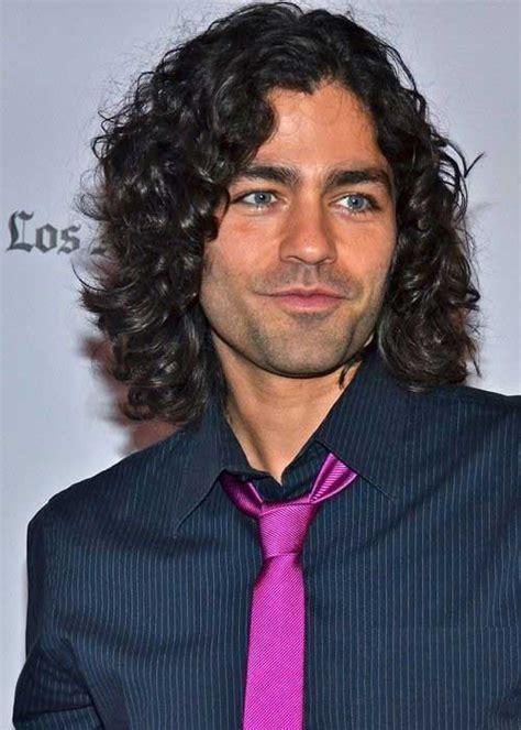 Longer Mens Hairstyles by 10 Mens Curly Hairstyles Mens Hairstyles 2018