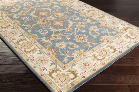 Oxford Rugs by Artistic Weavers Oxford Awhs2011 Teal Beige Area Rug