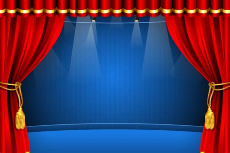 red curtain vector red curtain free vector graphic download