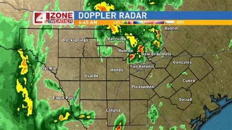 south texas weather map 4 zone weather storms roll through south texas woai