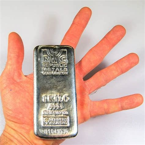 1 Ounce Silver Bar Size by 1 Kilo Silver Bars For Sale At Low Premiums Money Metals 174