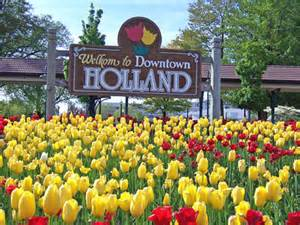 Holland is a coastal city in the western region of the lower peninsula