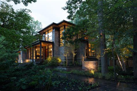 Frank Lloyd Wright Wall Sconces David S House Modern Exterior Toronto By David