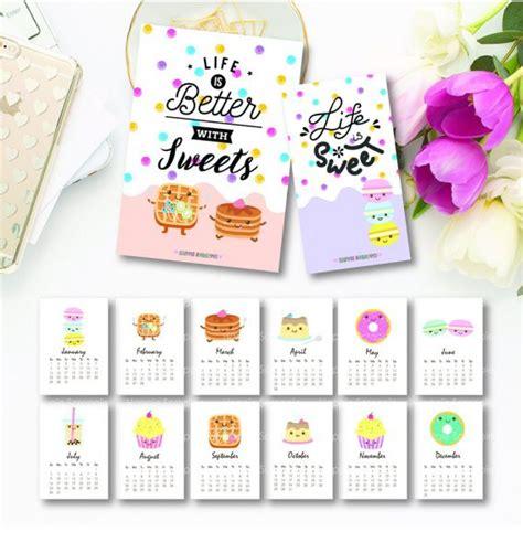 printable calendar kawaii 2017 cute calendar printables super cute kawaii