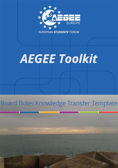 board manual template aegee members portal members manual