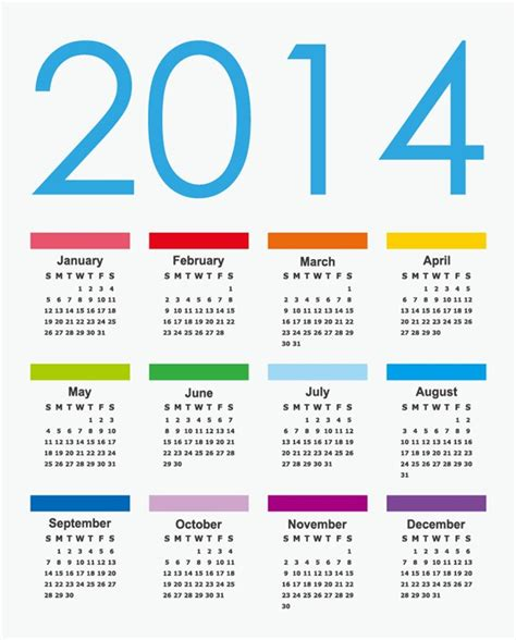 design calendar graphic calendar 2014 vector graphic free vector graphics all