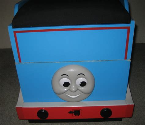 thomas the tank engine train wooden toy box bench other