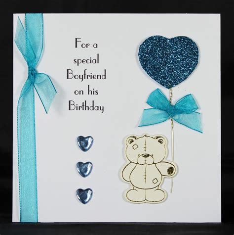 Handmade Birthday Card For Lover - handmade greeting cards for boyfriend weneedfun