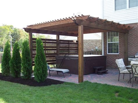 do pergolas provide shade 25 best ideas about hot tub pergola on pinterest hot