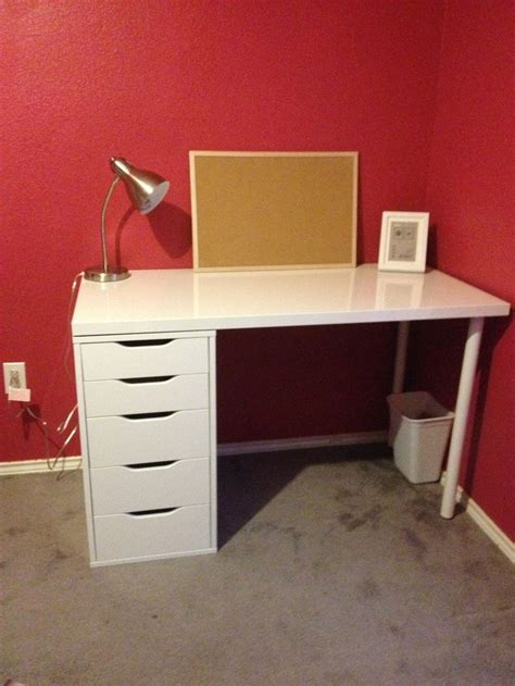 Small Desk With Drawers Ikea Ikea Desk Home Decor Rooms Pinterest Ikea Desk Desks And Apartments