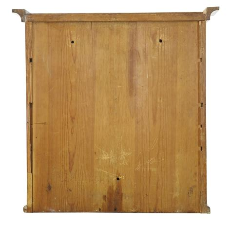 Birch Cabinet by 19th Century Swedish Birch Wall Cabinet For Sale At 1stdibs