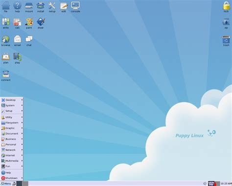 puppy linux distrowatch put the back into computing use linux bsd