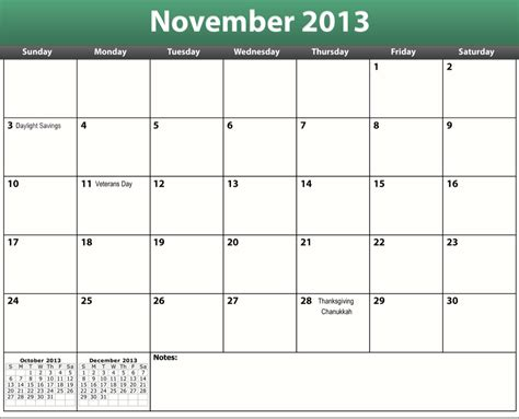 printable calendar october november december 2013 image gallery november 2013 calendar printable