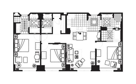 elara las vegas junior suite floor plan elara las vegas 2 bedroom suite bedroom at real estate