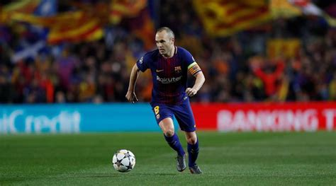 barcelona in chions league barcelona captain andres iniesta considering move to china