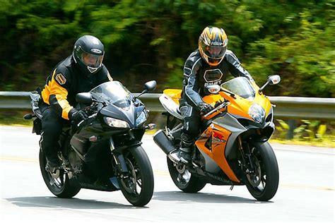 Moto Suzuki 1000cc Portal Domingo Comparativo Honda Cbr 1000rr Vs