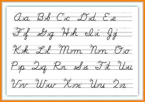cursive letters chart 9 cursive handwriting chart ars eloquentiae