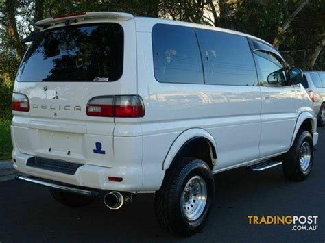 mitsubishi delica parts australia 2005 mitsubishi delica lift kit spacegear wagon for sale