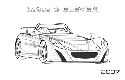 coloring pages rally cars lotus 2 eleven coloring page car coloring pages