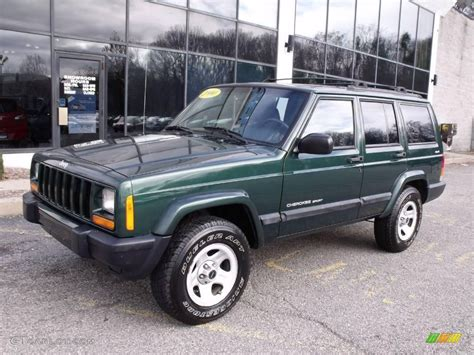 2000 green jeep 2000 forest green pearl jeep sport 4x4 22215905