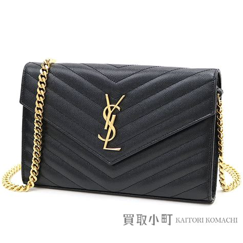 kaitorikomachi yves saint laurent monogram saint laurent