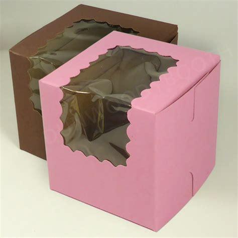 bakery box with window cupcake bakery box with window single regular size