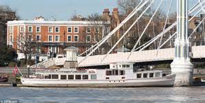thames river boat cadogan pier german built ferry on sale for 163 695k as a houseboat on