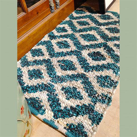Vintage 20 31 5 Inch Turquoise Antiskid Bathroom Rug Vintage Bathroom Rugs