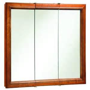 36 in medicine cabinet design house montclair 36 in x 30 in surface mount tri