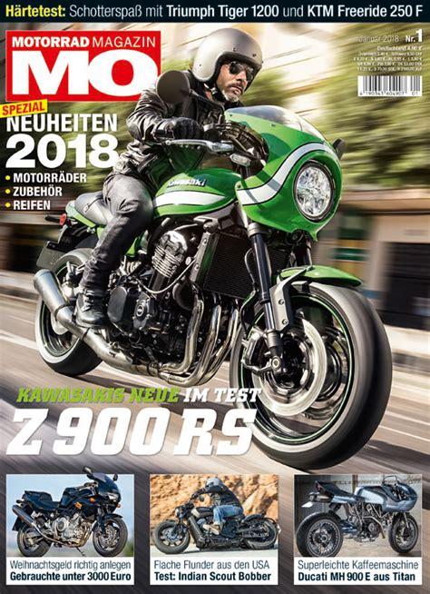 Mo Motorrad Magazin De by Motorrad Magazin Mo 1 2018 Motorrad Magazin Mo