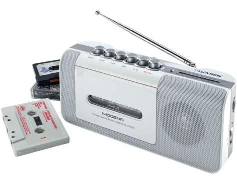 cassette radio player portable radio cassette media recorder player