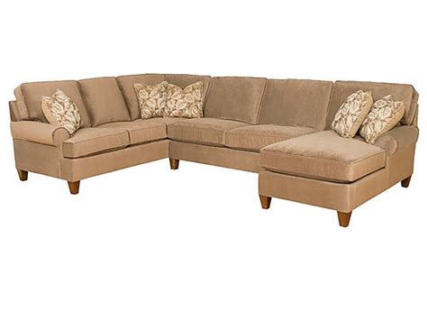 king hickory sectionals king hickory living room chatham fabric sectional 5900