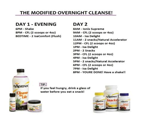 How To Detox From Overnight by Isagenix Nutritional Cleansing System 30 Day Cleanse