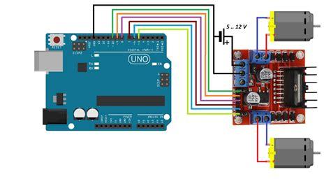 Tutorial L298n Arduino | arduino ile otonom ara 231 yapma l298n motor s 252 r 252 c 252 s 252