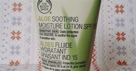 Pelembab Ber Spf Review The Shop Aloe Soothing Moisture Lotion Spf