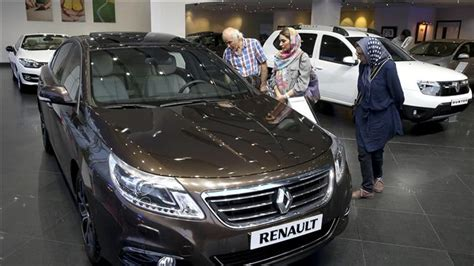 renault iran presstv renault s sept sales to iran up 111
