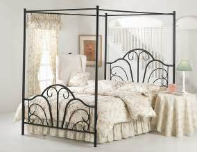 Wrought Iron Canopy Bedroom Sets Decorating With Wrought Iron Furniture Gift And Craft