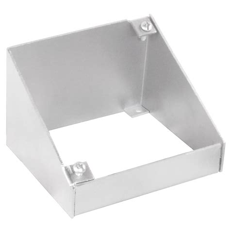 ceiling box extension 4 square extension ring 45 degree angle for vaulted