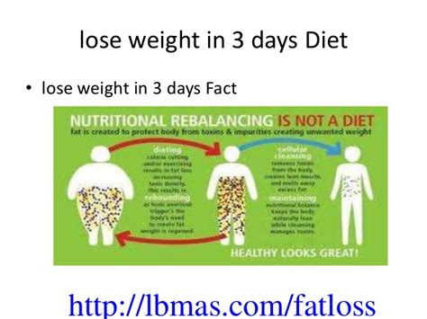Lose Baby Weight 3 Day Detox by Lose Weight 3 Days Gallery